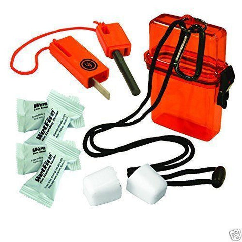 Fire starter kit 1.0 emergency watertight case disaster survival bugoutbag  UST