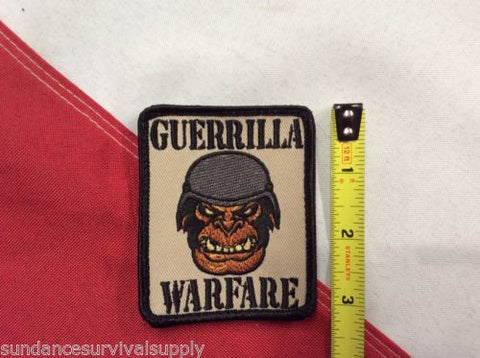 Guerilla Warfare Patch novelty Rothco survival emergency tactical disaster #742