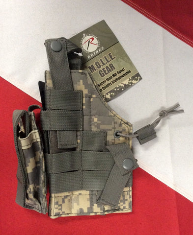 Ambidextrous Holster tactical bugoutbag disaster prepper GIFT survival Rothco 02 ACU