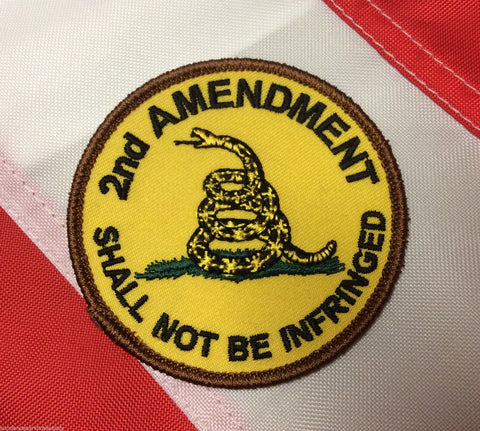 2nd amendment shall not be infringed patch survival tactical gear military #441