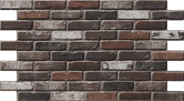 Simple Walls Faux Brick Wall Panels - Brown London