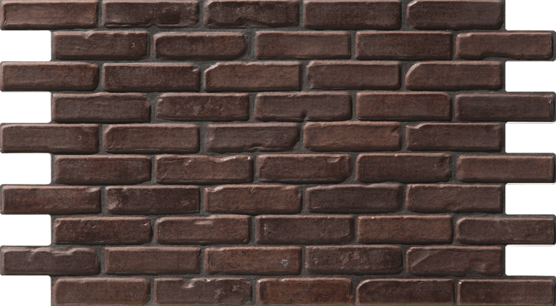 Simple Walls Faux Brick Wall Panels - Dark Red