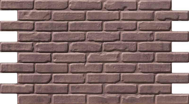Simple Walls Faux Brick Wall Panels - Light Pink