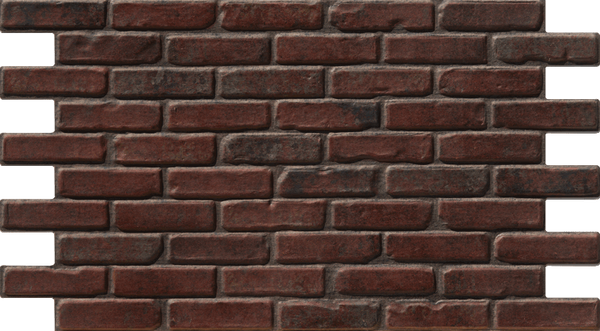 Simple Walls Faux Brick Wall Panels - Medium Red