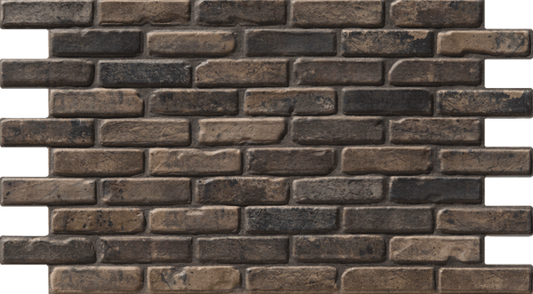 Simple Walls Faux Brick Wall Panels - Yellow London