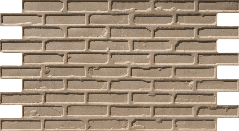Simple Walls Faux Brick Wall Panels (back of panel)