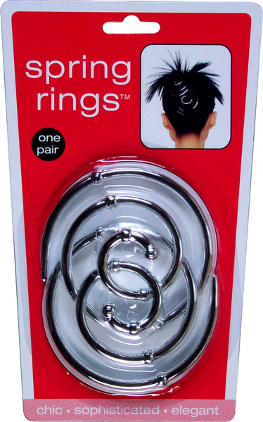Hairagami® Spring Rings Silver