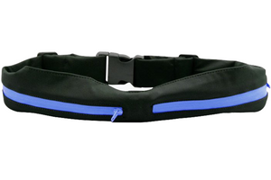 Running Belt Waist Pack - Water Resistant Runners Belt Fanny Pack for Hiking Fitness – Adjustable Running Pouch for All Kinds of Phones iPhone Android Windows