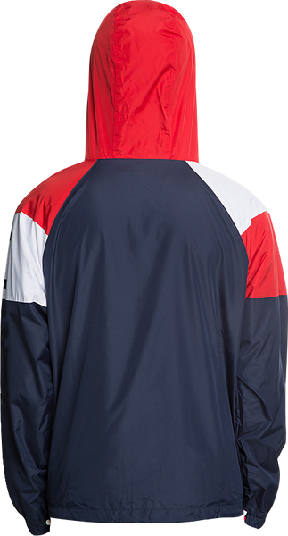 Vautica Windbreaker-Red/Blue