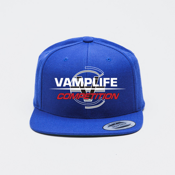 Competition Snapback-Royal
