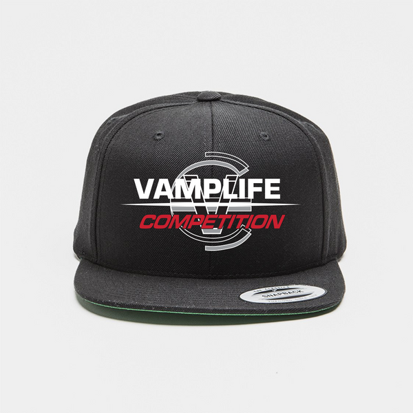Competition Snapback-Black