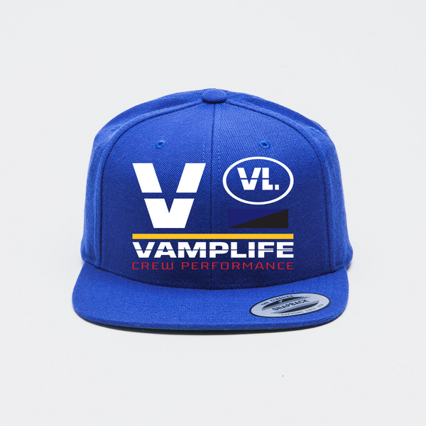 Crew Performance Snapback-Royal