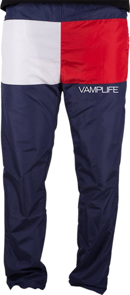 Vautica Pants-Red/Blue