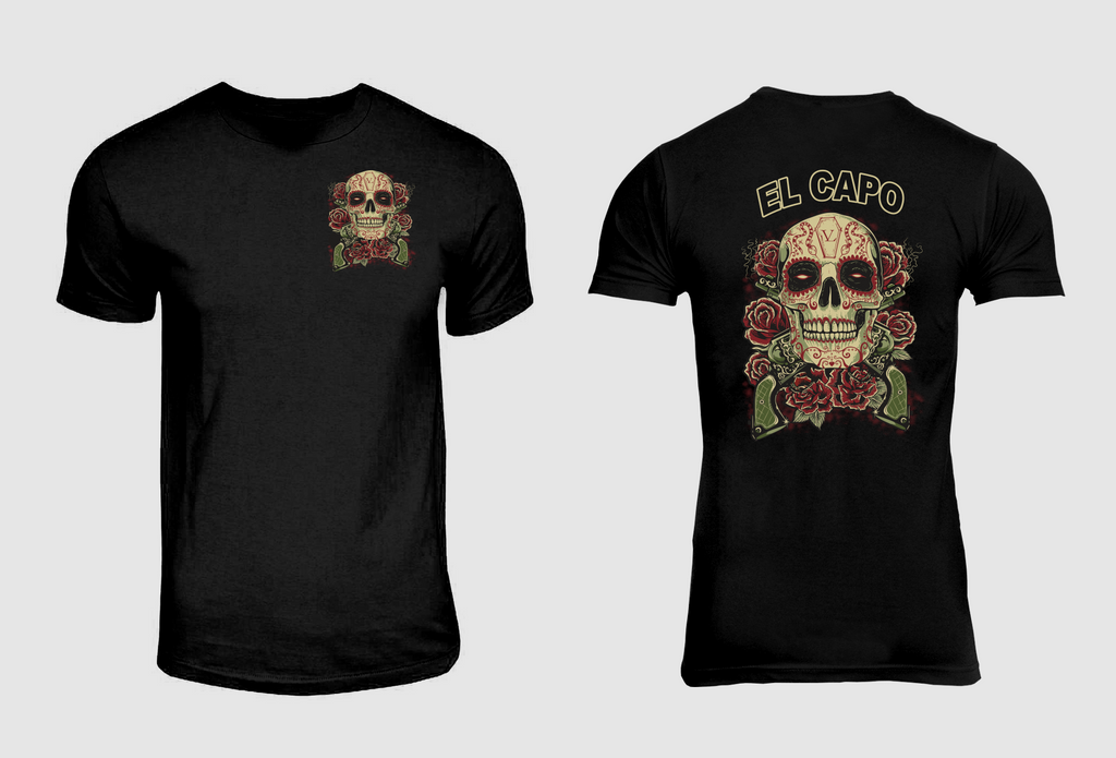 Guns N EL Capo Tee-Black