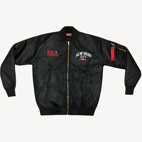 New Vamp City Bomber Jacket