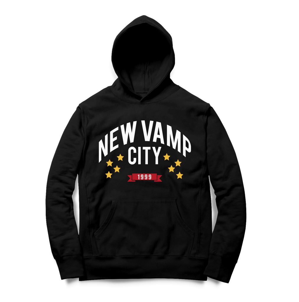 New Vamp City Hoodie-Black