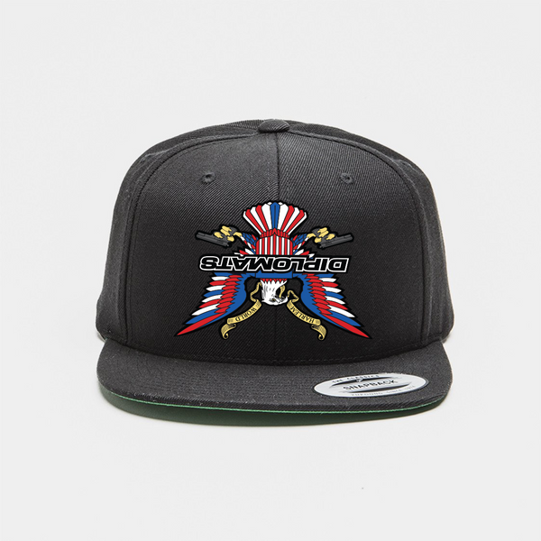 Upside Down Diplomats Snapback-Black