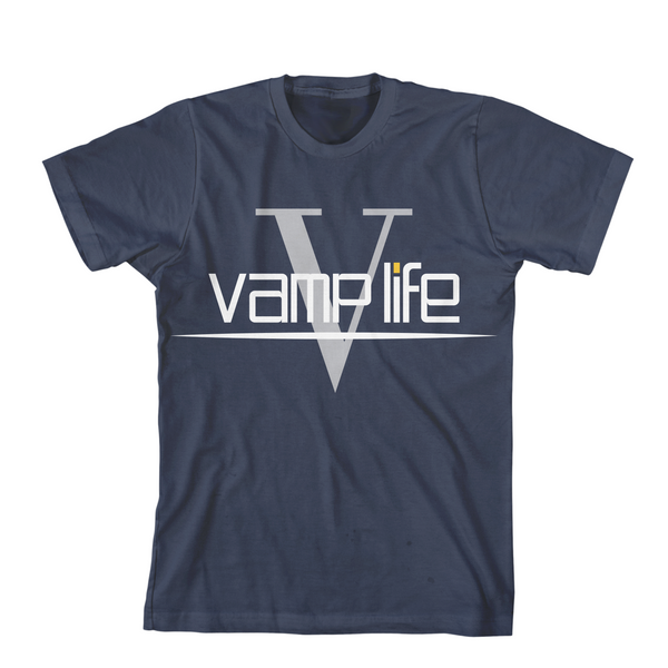 V Midnight Navy Tee