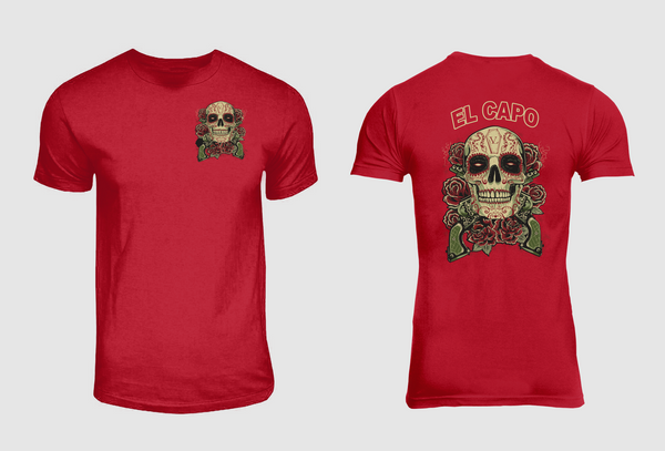 Guns N EL Capo Tee-Red