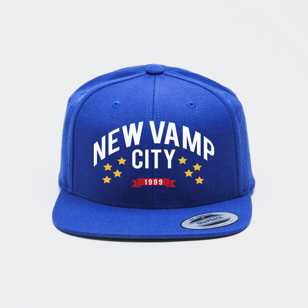 New Vamp City Snapback-Royal