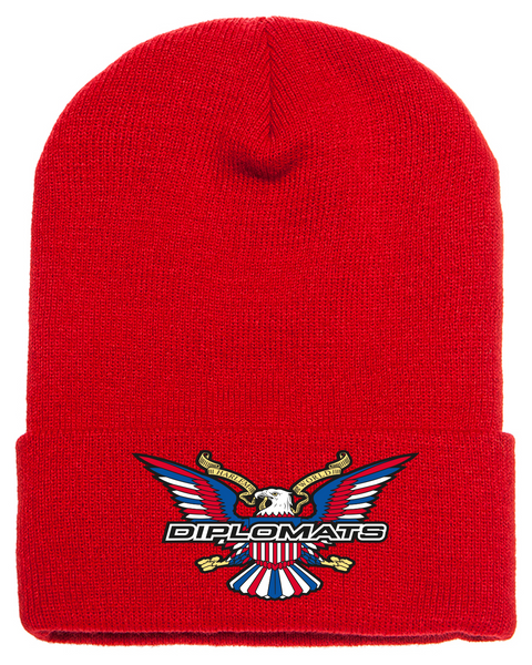 Diplomats Beanie-Red