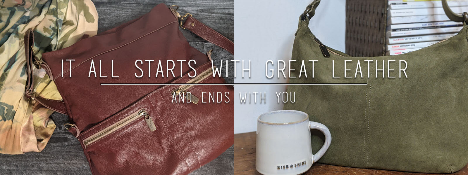 It All Starts With Great Leather and ends with you, Brynn Capella