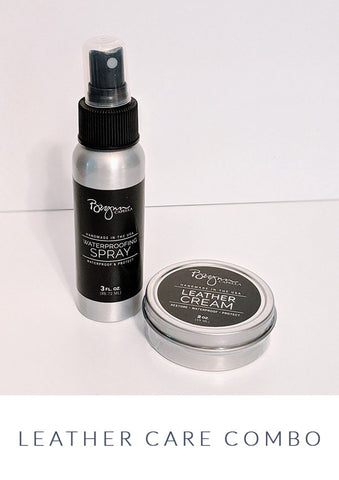Leather Care Combo Made in the USA, Brynn Capella