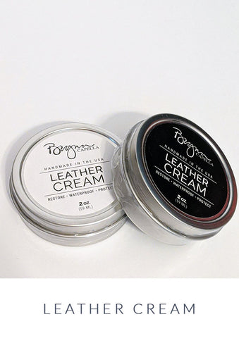 Leather Cream Handcrafted in the USA, Brynn Capella