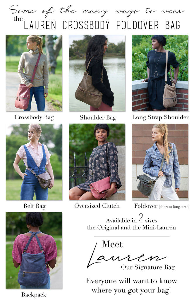 The Many Ways to Wear Our Signature Lauren Handbag