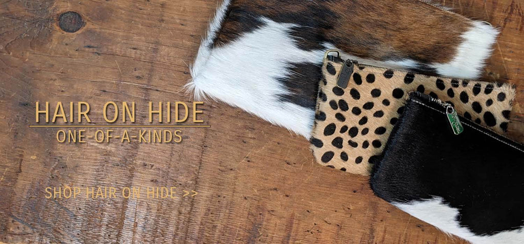 Hairon Hide Leather, Brynn Capella, made in Chicago