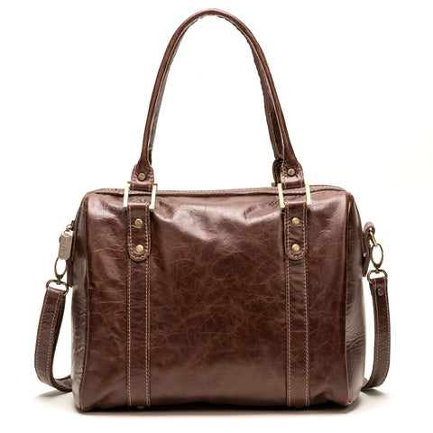 Angi Satchel in Cinnamon