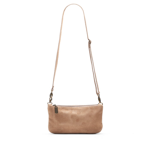 Mini Pamela Crossbody Hobo - River Rock