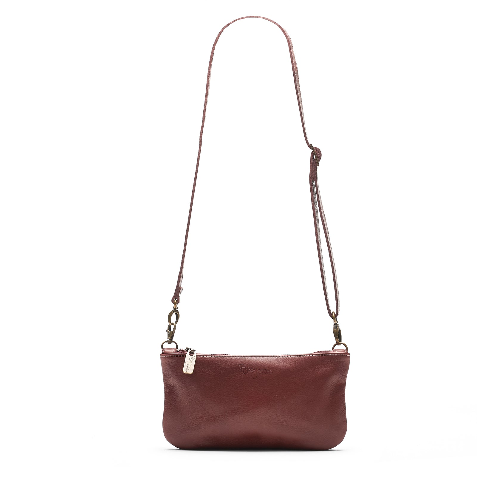 Cher Belt Bag / Crossbody - Merlot - Brynn Capella, Mini Crossbody
