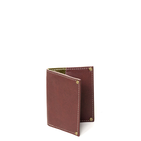 Kimerly Tri-fold Wallet - Olive Branch