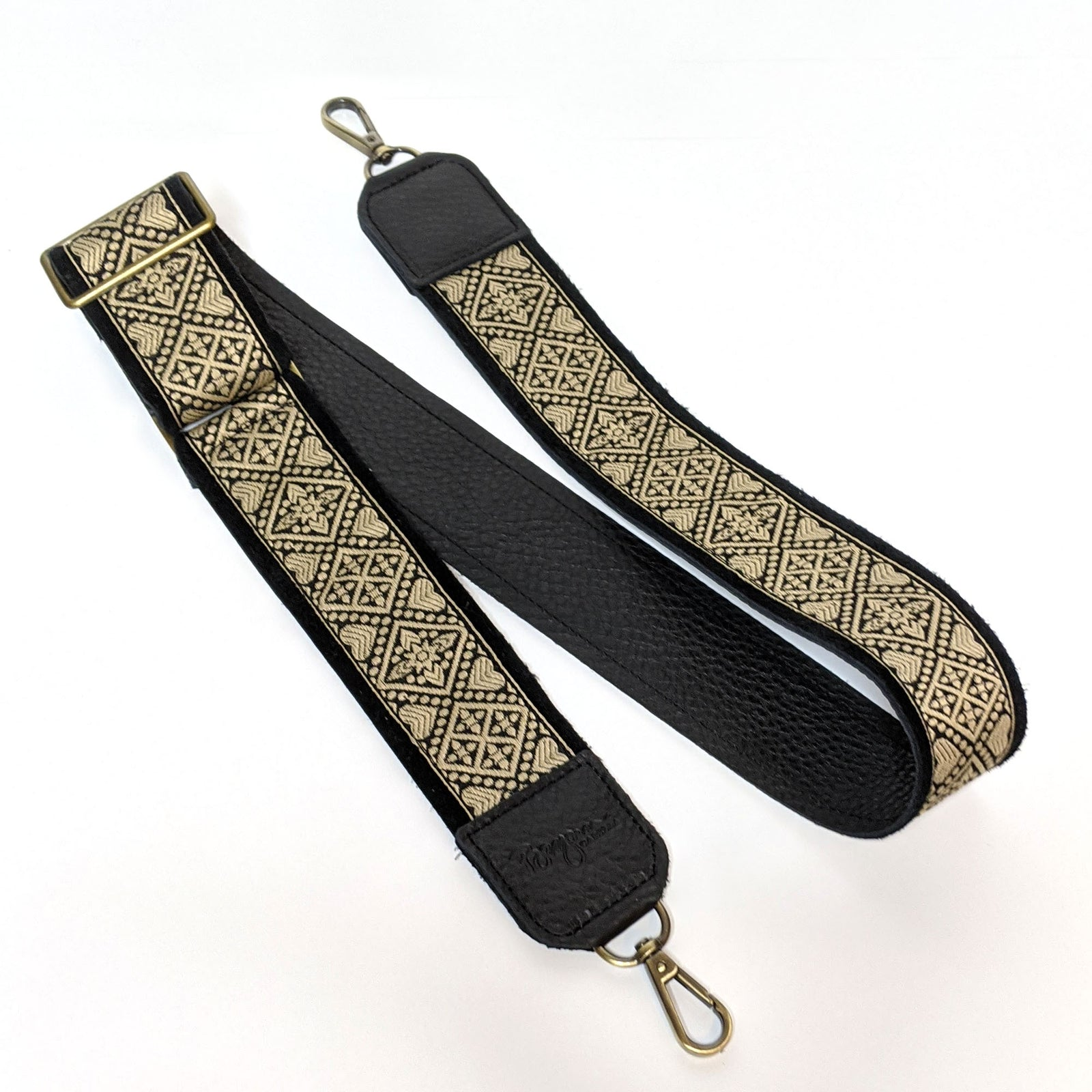 Lizzy Guitar Straps - Hearts