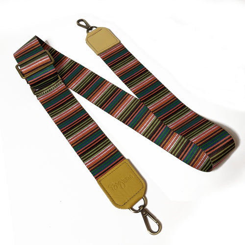 Lizzy Guitar Straps - Colored Stripes