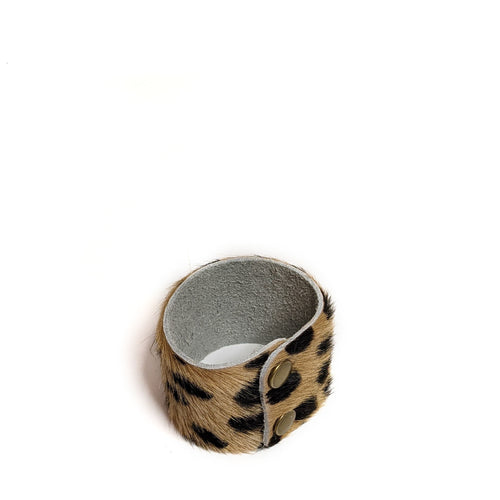 Sadie Hairon Bracelet in Cheetah