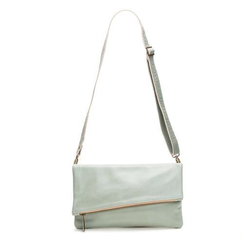Jenne Foldover Crossbody - Sea Breeze - Brynn Capella, Clutch