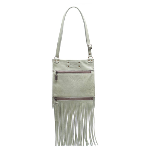 Kari Fringe Crossbody - Bora Bora - Brynn Capella, Small Crossbody