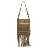 Kari Fringe Crossbody - Greenwich - Brynn Capella, Small Crossbody