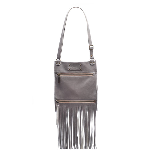 Kari Fringe Crossbody - Stone Temple - Brynn Capella, Small Crossbody