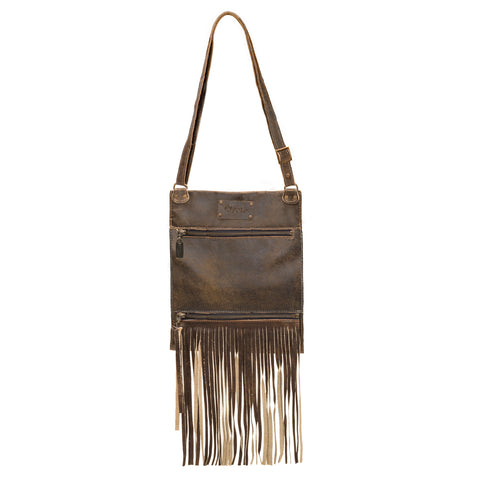 Mini-Pamela Crossbody Hobo - Blue Lagoon