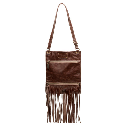 Kari Fringe Crossbody - Darkhorse - Brynn Capella, Small Crossbody