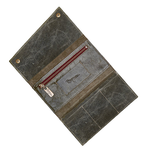 Kimerly Tri-fold Wallet - River Rock