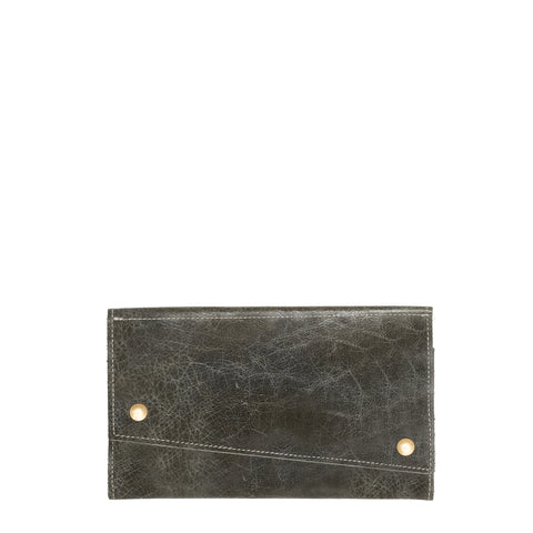 Kimerly Tri-fold Wallet - Black Sand