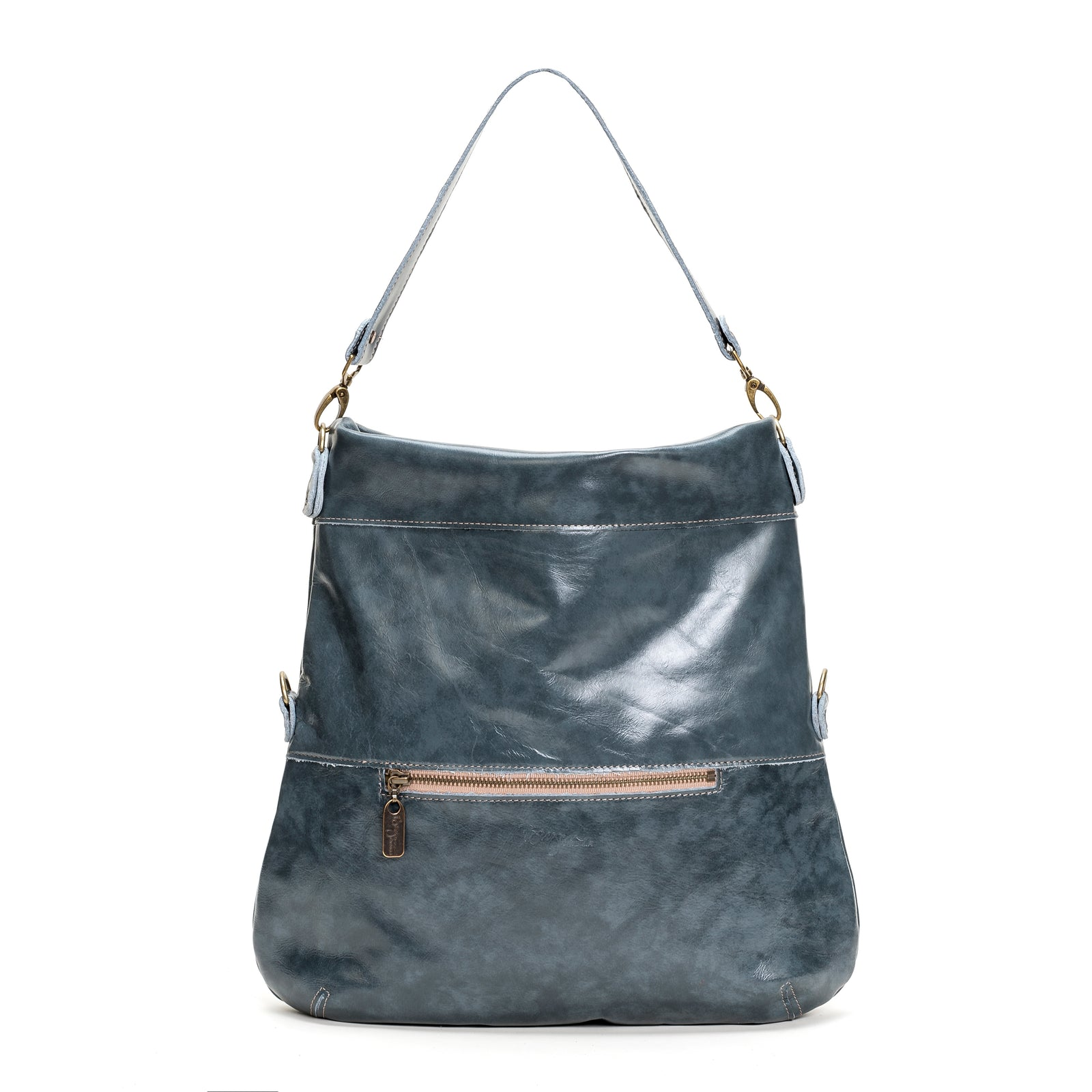 Lauren Crossbody - Blue Bayou - Brynn Capella, Large Crossbody
