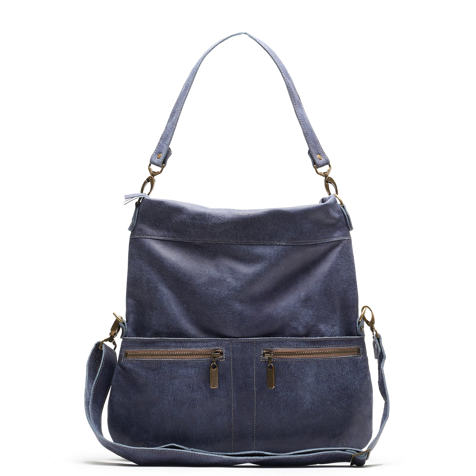 Lauren Crossbody - Bluebell - Brynn Capella, Large Crossbody