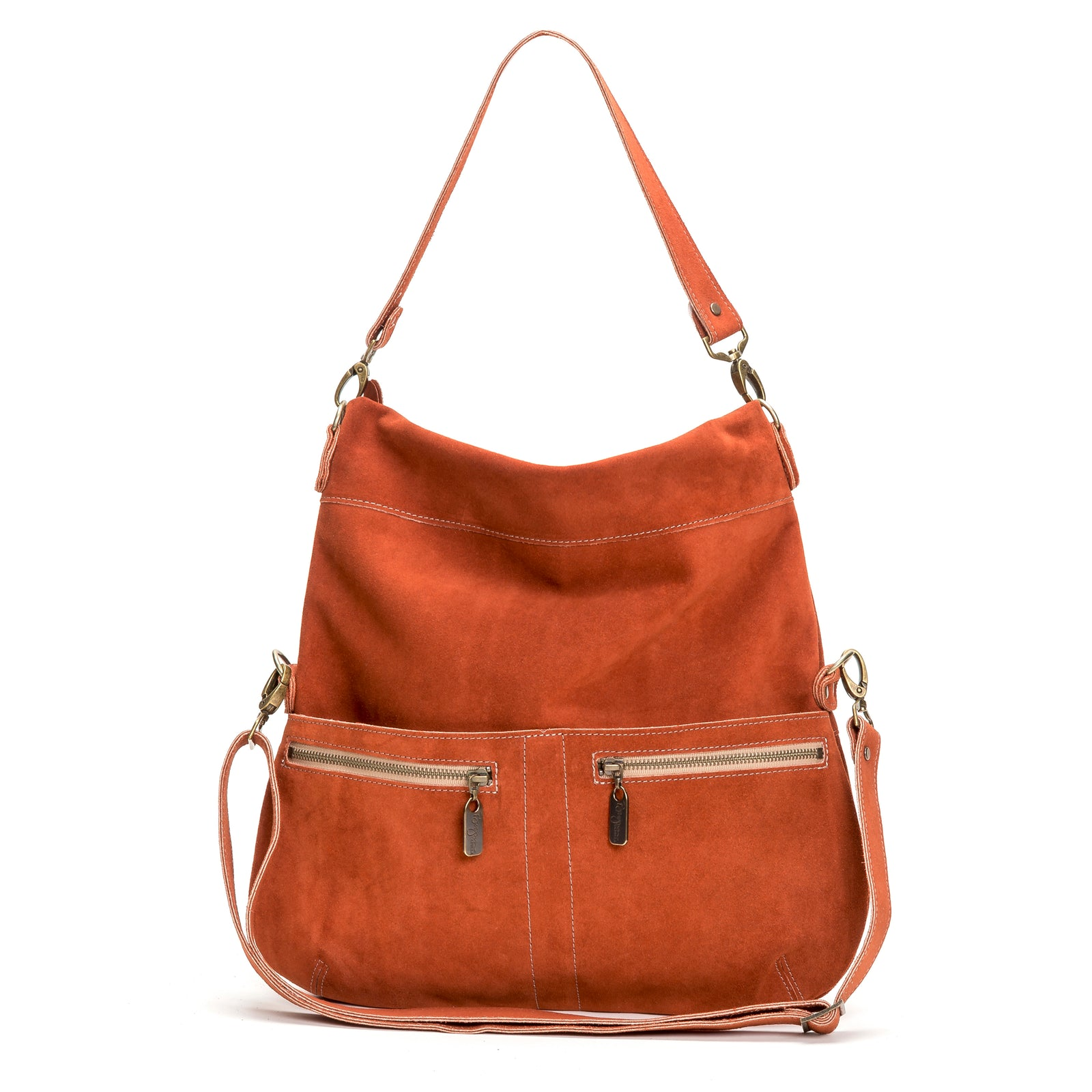 Lauren Crossbody - Cinnamon - Brynn Capella, Large Crossbody