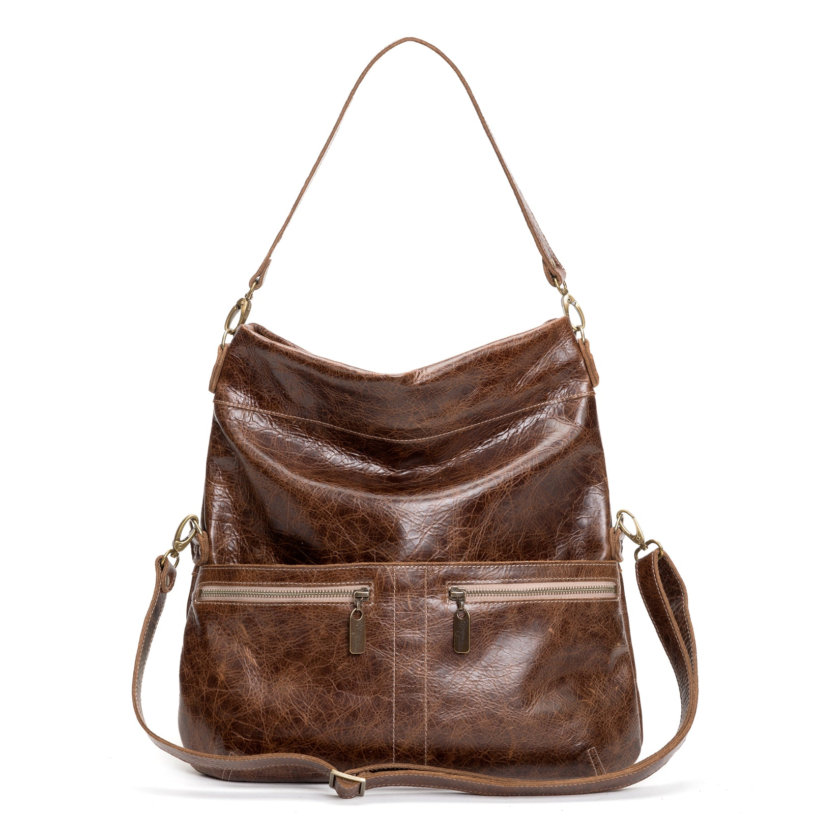 Lauren Crossbody - Driftwood - Brynn Capella, Large Crossbody