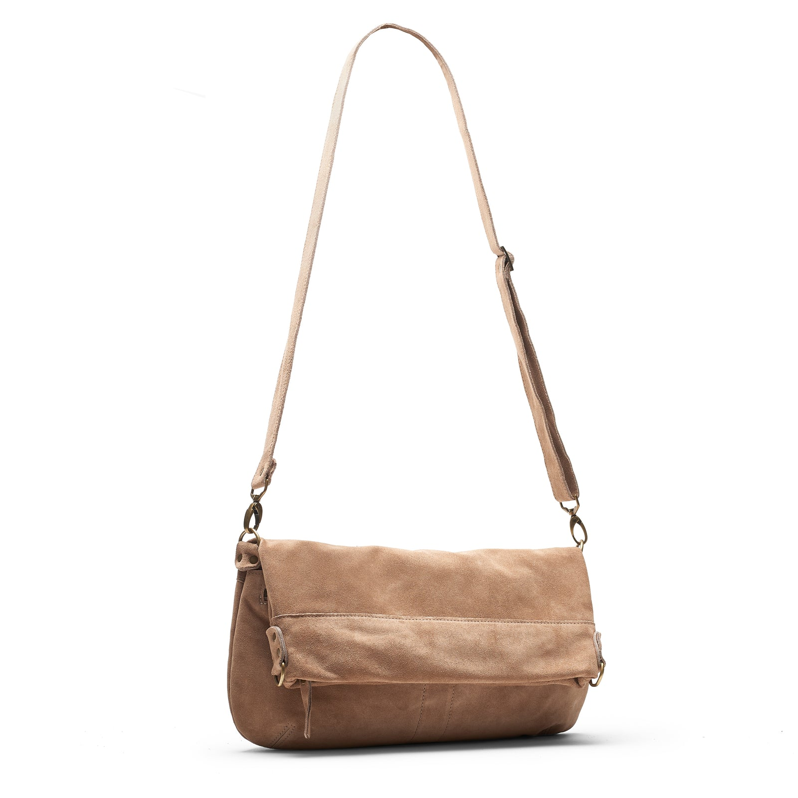 Lauren Crossbody - Fawn - Brynn Capella, Large Crossbody